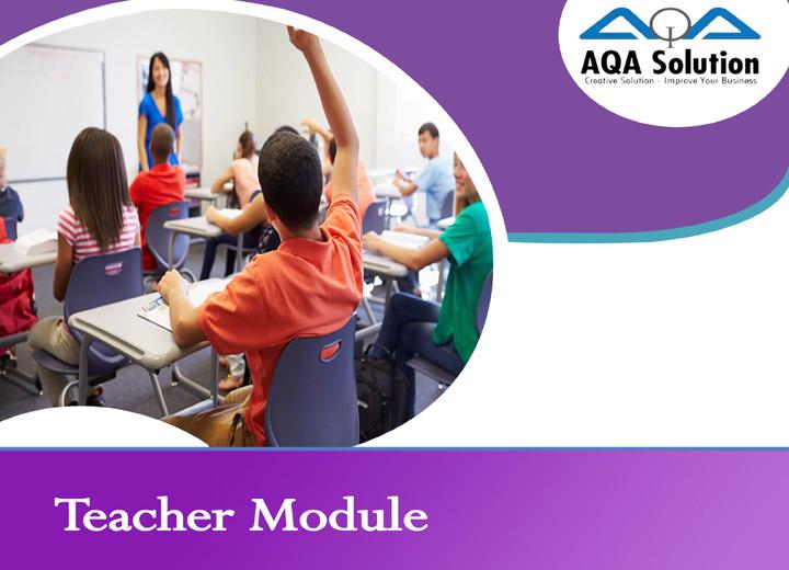 ERP Cloud Software Teacher Module